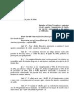 Projeto de Lei 024 - 08 Lei 631