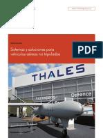 Sistemas y Soluciones Para Vehículos Aéreos No Tripulados