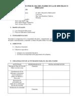 Plan de Trabajo Por El Dia Del Padre en La Ie 3090 Franco Peruano(2)