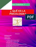 ¿Qué Es La Psicología