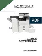 Aficio 4002-5002 D129/D130 SERVICE MANUAL