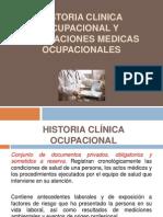 Historia Clinica Ocupacional y Evaluaciones Medicas Ocupacionales Clase