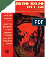 El Libro Rojo del 68, antologia de poesia social mexicana y ensayos sobre el movimiento estudiantil, por Jose Tlatelpas, Leopoldo Ayala y Mario Ramirez Centeno