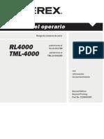 T108020SP Manual Operacion RL4000