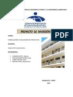 Trabajo de Formulacion y Evalucion de Proyectos Listo