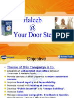 Haleeb At Doorstep