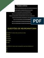 Questões de Neuroanatomia