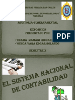 Sistema Nacional Contabilidad