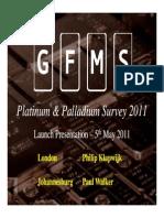 Platinum Palladium Survey 2011 Presentation