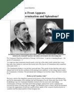 166th Anniversary of the Communist Manifesto