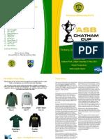 VUWAFC Programme 2014-5