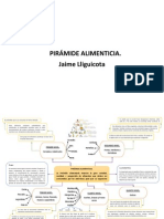 Diagrama - Pirámide Alimenticia