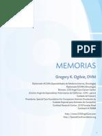 Memorias Dr Ogilvie Oncologia