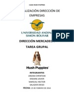 Deber Marketing Hush Puppies Chile