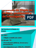 El Cultivo de Tilapia en El Peru
