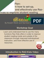 raz-kids workshop