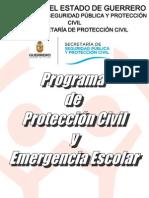 Programa de Protección Civil y Emergencia Escolar 2012