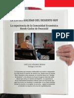 VN2887_pliego - Espiritualidad Del Desierto Hoy