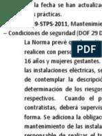 ACTUALIZACIÓN DE 5 NORMAS OFICIALES MEXICANAS.