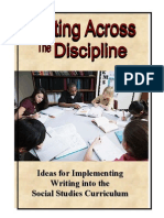 Writing Across the Discipline