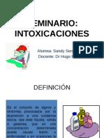 INTOXICACIONES_Seminario