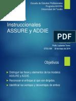Presentación Modelo Instruccional_ASSURE y ADDIE