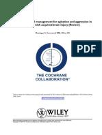 DCA Pharmacological Management for Agitation