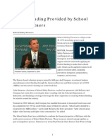 School Funding Provided by School Safety Partners