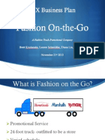 Fashion on-The-Go Final Business Presentation