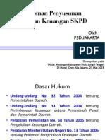 Pedoman Penyusunan Laporan Keuangan Skpd