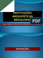 Instituições arquivísticas