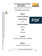 Taller de Liderzgo Resumen JuanJoseMoralesRamón