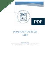Caracteristicas SGBD