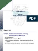 Tema 2 - Modelado de Sistemas Físicos