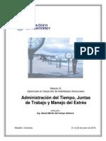 Administracion Del Tiempo y Manejo Estres