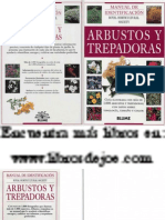 Aaa023x - Botanica - Jardineria - Libro Guia - Arbustos y Trepadoras (Royal H Society - Blume)