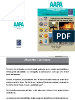 AAPA 2014 Conference Program