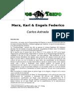 Astrada, Carlos - Marx, Karl & Engels, Federico