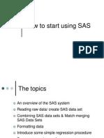 Getting Start SAS Class (1)
