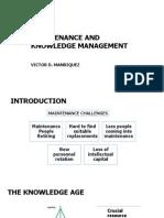 maintenanceandknowledgemanagementpresentation-140526184224-phpapp01