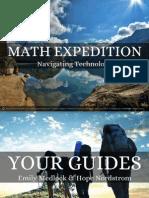 math expedition tetc presentation