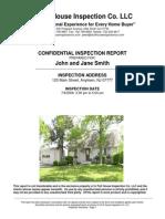 Sample Full Inspection Report 2008