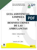 GPMASCE002-19 Guia Asistencial de Limp. y Desinfeccion de las Ambulancias - V2.pdf