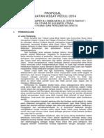 Proposal Lomba Masamper dan Menulis Cerita Rakyat Nusa Utara 2014