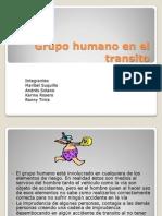 Grupo Humano en El Transito