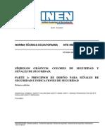 NTE INEN ISO 3864-1-2013 Símbolos Gráficos Colores d e Seguridad y Señales de Seguridad
