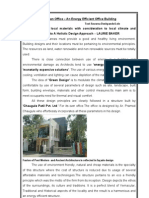 Energy Efficient Office Building