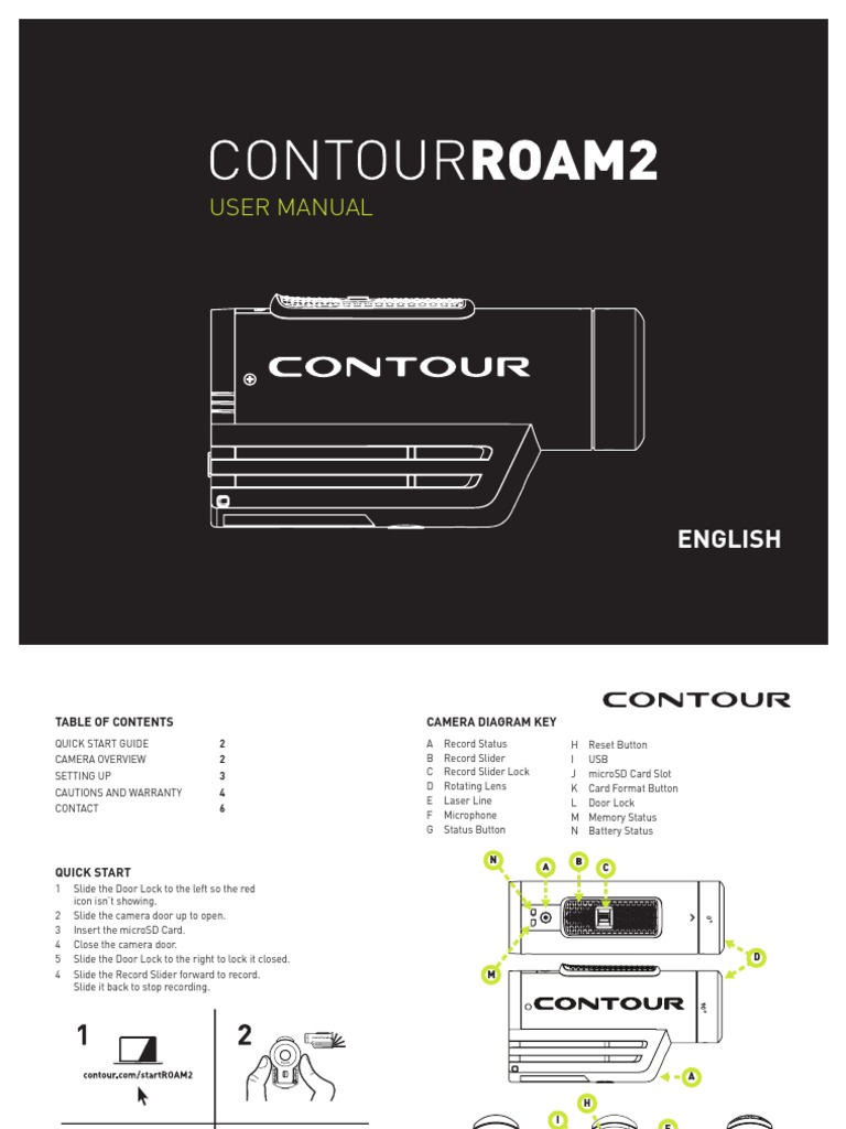 Contour Roam2 Manual Secure Digital Implied Warranty 3 Slot Payphone Wiring Diagram