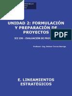 Clase 7 ICI 250 UNAB 2011-1- Formulacion y Preparacion de Proyectos V