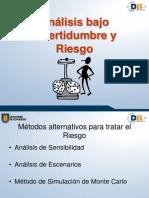 09) Análisis Bajo Incertidumbre y Riesgo